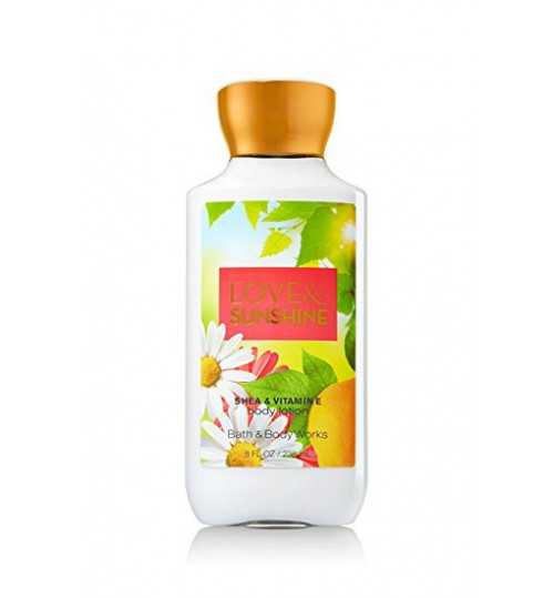 BATH & BODY WORKS LOVE & SUNSHINE BODY LOTION 236ML
