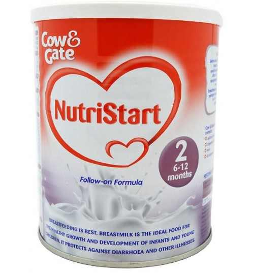 COW AND GATE NUTRISTART 2 6-12 MONTHS 400G